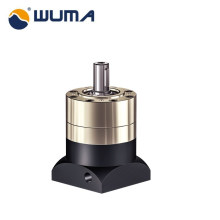 High quality aluminum foot mounted worm small gearbox
