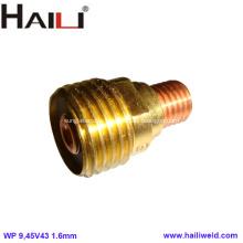 Cuerpo de lente de gas 45V43 1/16 1.6mm