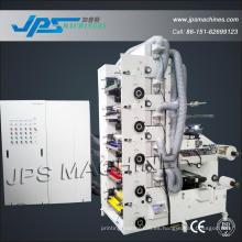 Máquina de impresión de papel autoadhesivo de etiqueta de 420 mm de anchura de papel