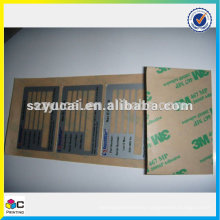 Good quality decoration control panel labels