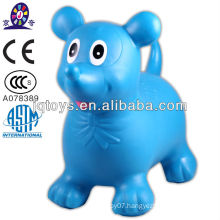 Hot inflatable rider toys jumping animal