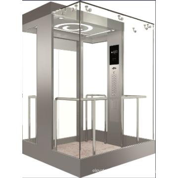 Vvvf Control Panoramic Elevator with Machine Room