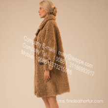 Wanita Lamb Fur Outward In Winter