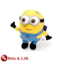 Meet EN71 and ASTM standard ICTI plush toy factory minion stuffed toy