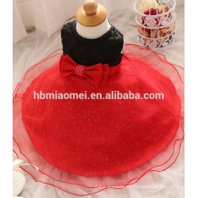 Bebê meninas rendas vestido de batismo vestido para roupas de bebê recém-nascido roupas menina grande arco primeiro aniversário tutu dress para a menina da criança