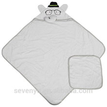 100% bamboo baby Hooded towel super fluffy Elephant premium baby bath towel --Mrs elephant