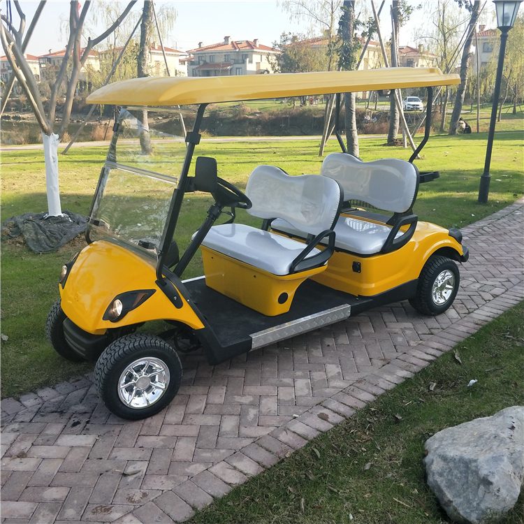 4 Seats Gasoline Golf Cart