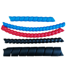 PP plastic hose guard or plastic spring sleeve protector  for cable hose pipe