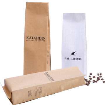 Individuell bedruckte Taschen 1kg Block Bottom Coffee Bag