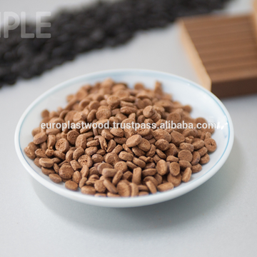Cheap WPC compound grain from Vietnam. High qualiy, 100% natural, waterproof, best for outdoor products