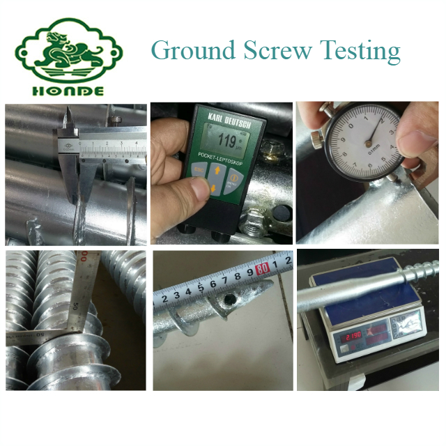 ground screw stake