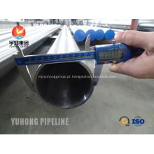 Tubulação sem emenda de Incoloy, Incoloy 800HT EN 1.4876 ASTM B163 / ASTM B515 / ASTM B407 / ASTM B514
