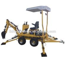 Excavadora retroexcavadora venta por mayor de China, retroexcavadora cargadora del tractor, retroexcavadora cargador pequeño