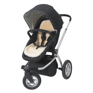 Sheepskin stroller liner for infant baby carrier