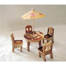 Muebles de madera ecológicos y divertidos