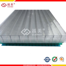 Hot Sale Double Wall Polycarbonate Sheet Plastic Multiwall Polycarbonate Sheet Sun Sheet