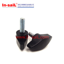 China Fastener Supplier Schwarz Bakelit Knöpfe für Maschinen