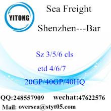 Shenzhen Port Sea frakt frakt till bar