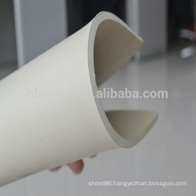Combustion resistance white SBR rubber sheet