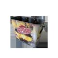 large big size square bar wine cooler