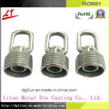 Liga de zinco Die Casting Iluminação LED cristal pendurado anel parte