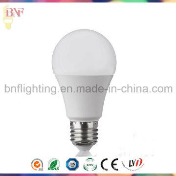 7W 9W LED A60 PC ahorro de energía Bombilla E27