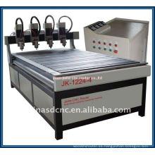 JK-1224-4 máquina de tallado de madera y publicidad