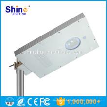 High power 15W Integrated solar street light pole