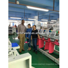 High speed 6 head 9 pin bed sheet embroidery machine
