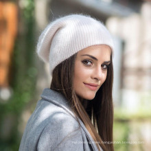Fashionable Female Curling Knitting Hat Winter Sweater Hat Thickening Autumn and Winter