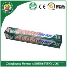 Plastic Wrap Greaseproof Aluminiumfolie Papier in Rolle
