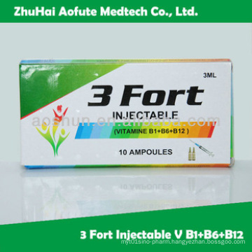 Gpm Approved Vitamin B1+B6+B12 Injection