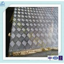 Placa de aluminio con relieve 3004 H24