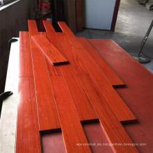 Lujo de calidad superior de vino tinto Balsamo pisos de madera sólida