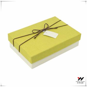 Geschenkkastengeschenkverpackung des kundengerechten Geschenks der Qualität 2018 kundenspezifisches