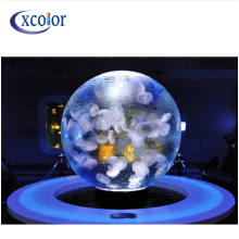 Best-Selling for Led Globe Display,Led Screen Panel,Globe Magic Display Manufacturer in China indoor Ceiling P4 Sphere LED Display export to United States Manufacturer