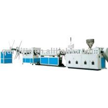 PVC/PE Doppel - Wand Kunststoff Wellrohr Maschinen