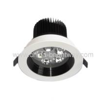 Interior 5x1w Led Ceiling Light Aluminium Material 110mm Diameter