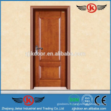 JK-SD9005 porte sablée à la main en bois / porte en bois massif sculpté