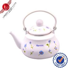 Enamel Teapot with Bakelite Handle/Water Jug