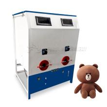Popular cotton filling machine for round U shape neck pillow travel/pp cotton filler/ball fiber pillow filling machine