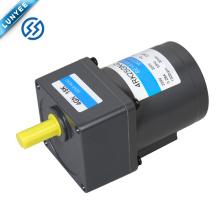 Motor de engranaje reversible de CA de baja velocidad monofásico de 25w con caja de engranajes