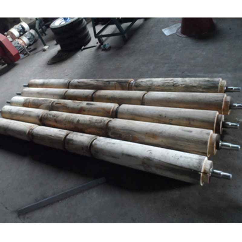 5PJ-5 bean polishing wood roller