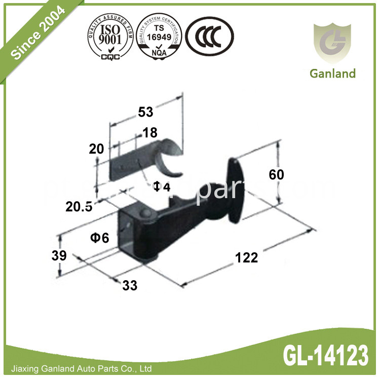 Tie Down Handle Rubber GL-14123
