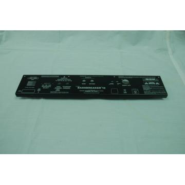 Chassis & panel logam amplifier
