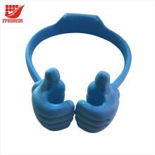 Pouces mignonnes universelles flexibles multi-angle jusqu'à support de bureau de comprimé de support de téléphone portable