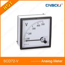 Аналоговый измеритель панели вольтметра переменного тока (96 * 96 мм) CE Аналоговый 72 Измеритель панели переменного тока AC 20 / 5A