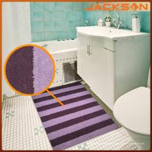 Tapis de salle de bain antidérapant en microfibre