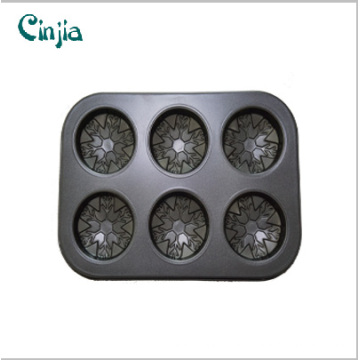 6 Cup Muffin Cake Mould / Cake Baking Pan