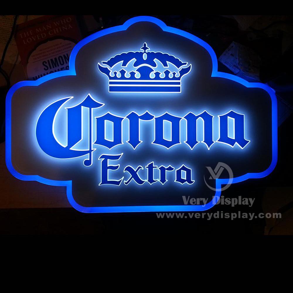 Corona 3d Led Sign